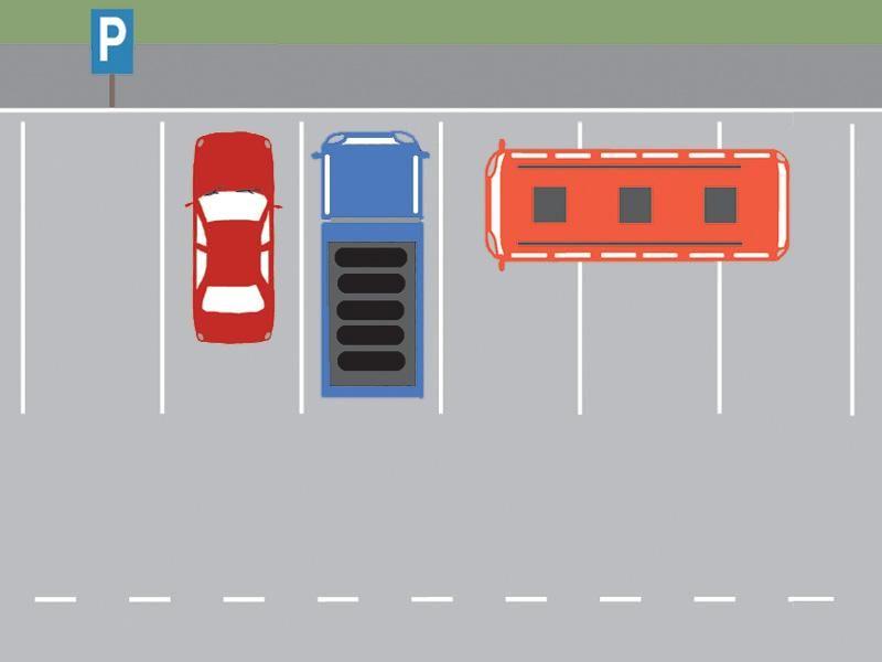 Care dintre autovehicule este parcat regulamentar? itemprop=