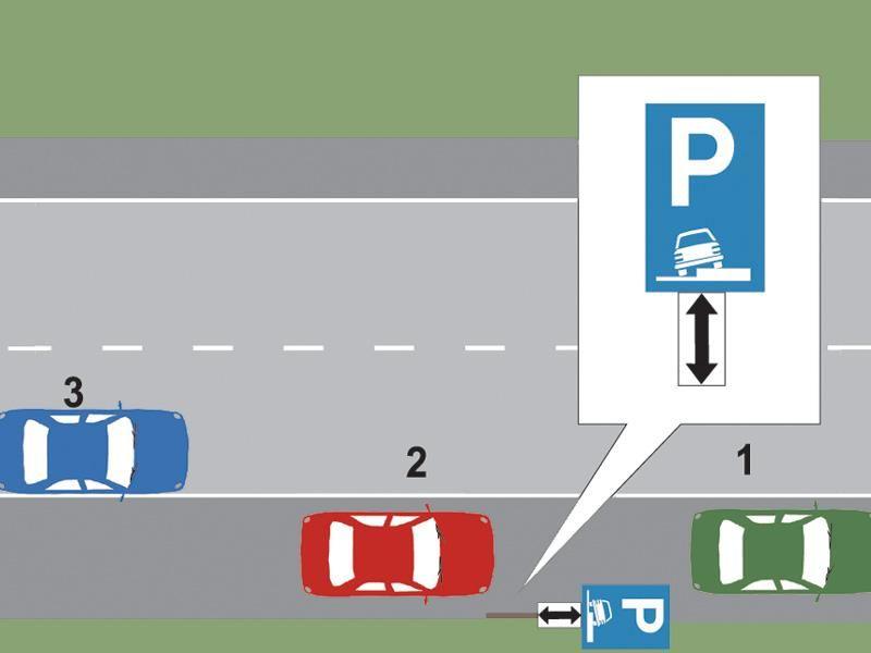 Care dintre cele trei autovehicule a parcat regulamentar? itemprop=