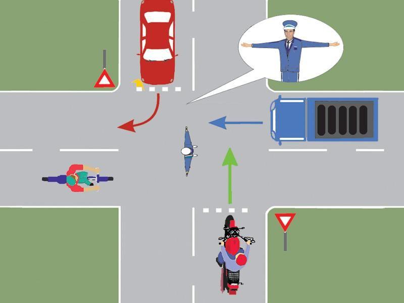 La semnalul poliţistului trebuie să oprească itemprop=