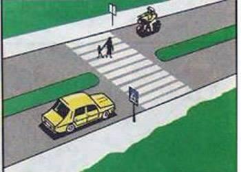 Sapte din zece soferi raspund gresit! Care dintre conducatorii autovehiculelor trebuie să acorde prioritate pietonilor? itemprop=