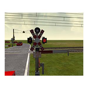 Capitol 11 - indicatoare la trecerea cu calea ferata