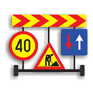 Capitol 13 - Mijloace auxiliare de semnalizare a lucrarilor